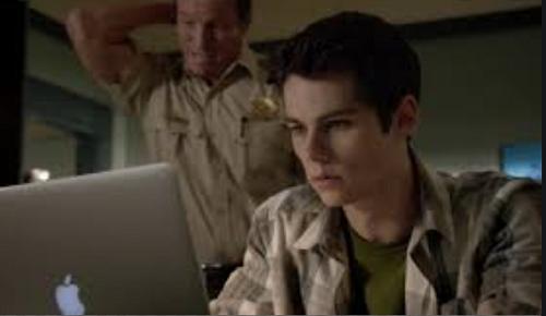 Stiles on computer